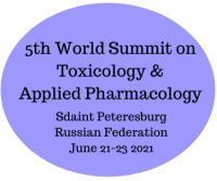 5th World Summit On Toxicology And Applied Pharmacology